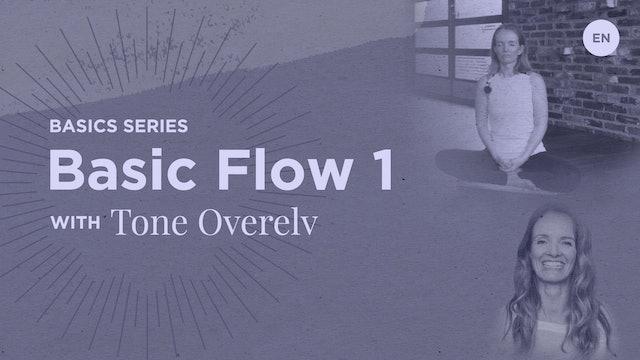 65m 'Basic Flow 1' Class - Tone Overelv
