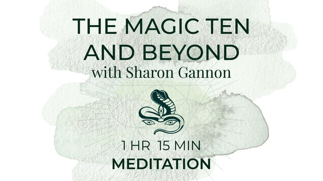 Sharon Gannon teaching The Magic Ten ...