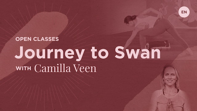 70m Open 'Journey to Hamsasana' - Camilla Veen