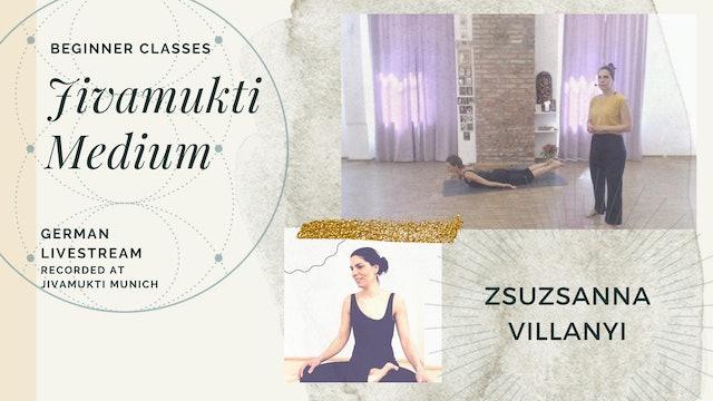 [livestream] 23 Apr '20 95m Medium:Open - Zsuzsanna Villanyi (auf Deutsch)