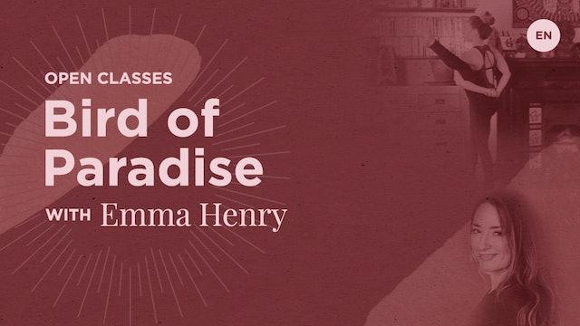 "[Live] 90m Open Class ""Bird of Paradise"" - Emma Henry (86)"