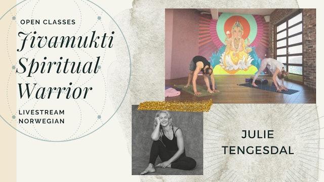 [livestream] 21 Apr '20 60m Spiritual Warrior - Julie Tengesdal (på norsk)