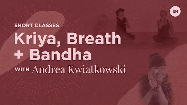 18m Kriya, Breath, & Bandha - Andrea