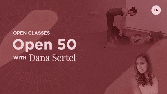 50m Open Class - Dana Sertel (in English)