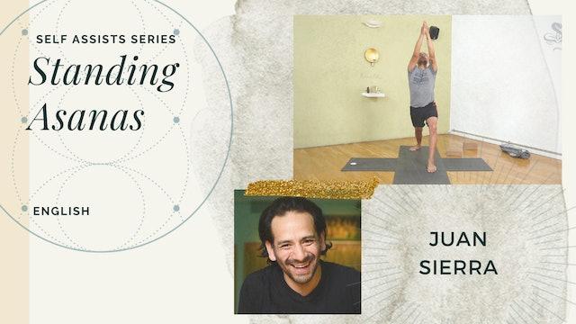 "Self-Assists Series: 65min ""Standing Asana"" - Juan Sierra (in English)"