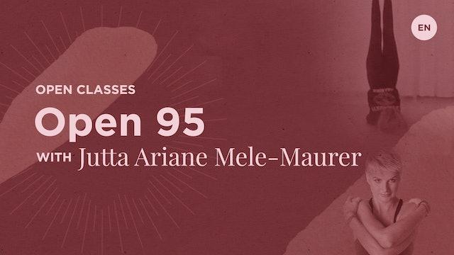 95min Jivamukti Open Class - Jutta Ariane Mele-Maurer (in English)