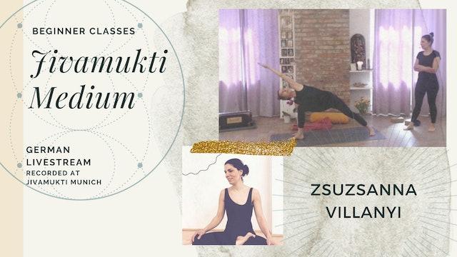 [livestream] 09 Apr '20 95m Medium:Open - Zsuzsanna Villanyi (auf Deutsch)