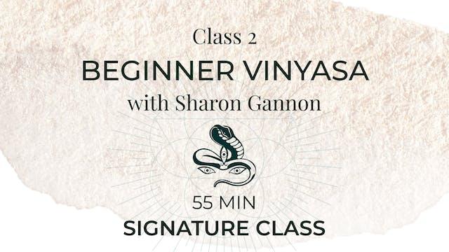 Signature Class: Beginner Vinyasa (wi...