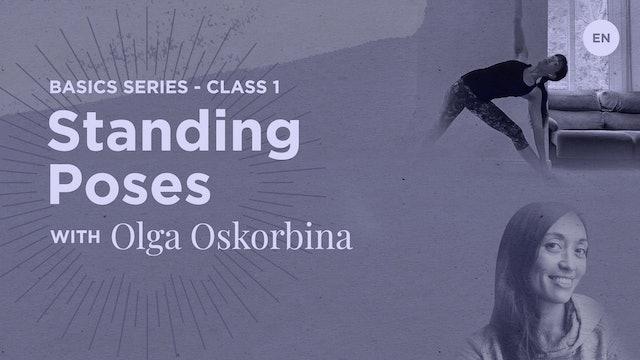 [Live] 90m Basics - 'Class 1 Standing Poses' - Olga Oskorbina