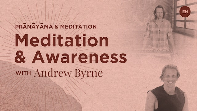[livestream] 23 Apr '20 35m Meditation&Awareness - Andrew Byrne (English)