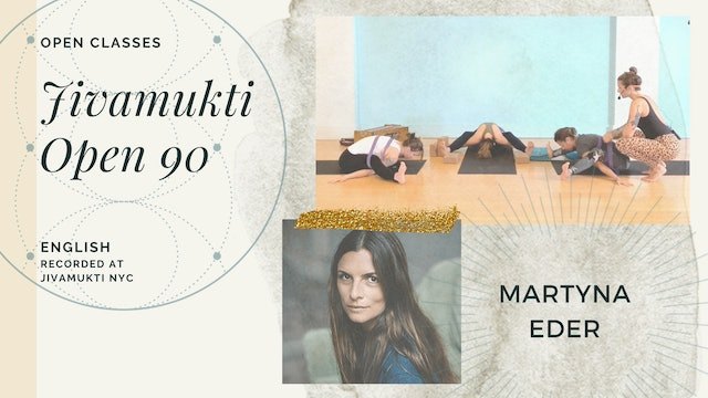 """Aug 2019 Open 90min - """"Creating Space for Goodness"""" - Martyna Eder"""
