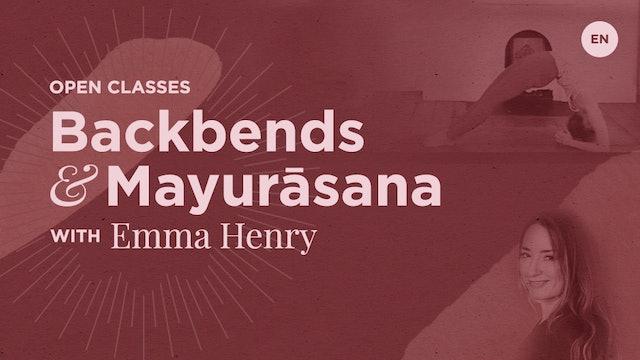 [Live] 90m Open Class 'Backbends & Mayurāsana' - Emma Henry (100)