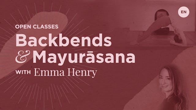 [Live] 90m Open Class 'Backbends & Ma...