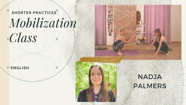 25min Mobilisation Practice - Nadja Palmers