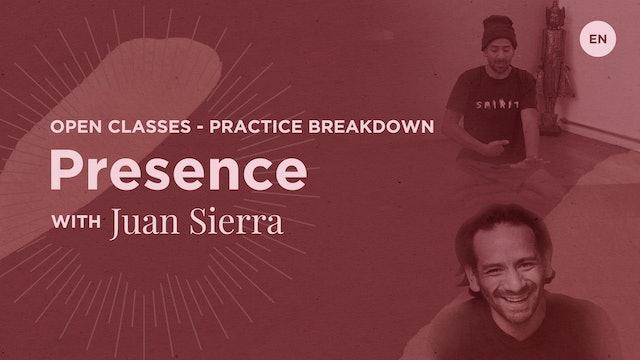 10m Practice Breakdown 'Presence' - Juan Sierra