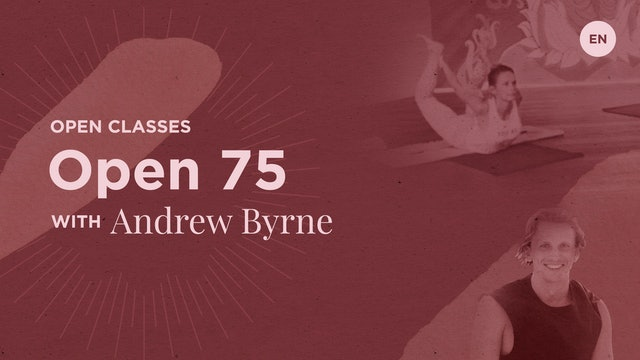 [livestream] 27 Apr '20 75m Jivamukti Open - Andrew Byrne (English)
