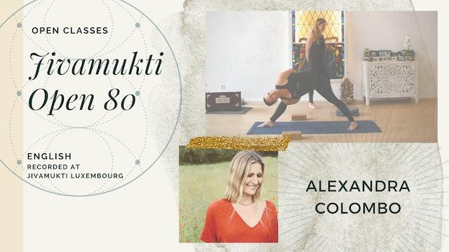 80m Open Class - Alexandra Columbo (in English)