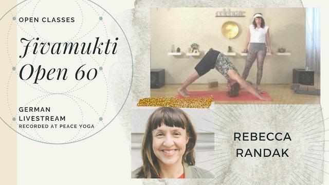 [livestream] 02 May '20 60m Jivamukti Open:60 - Rebecca Randak (auf Deutsch)