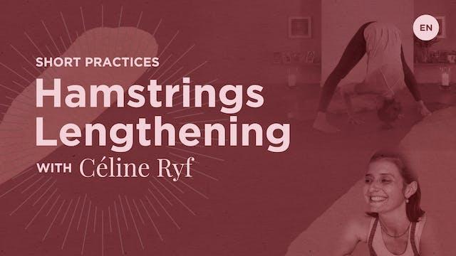 15m Practice 'Hamstrings' - Celine Ryf