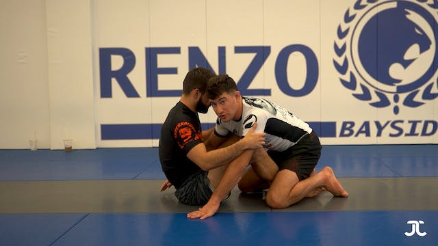 Butterfly Hook Half Guard Passing
