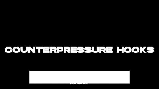 FREE SAMPLE - Fully Reinforced Finish - Counterpressure Hooks