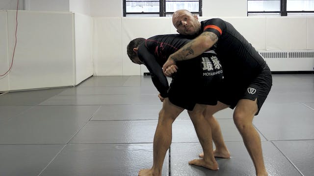 Grounding a Standing Opponent to Take...