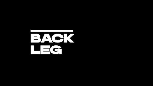 6. Back leg - Counterpressure Hooks
