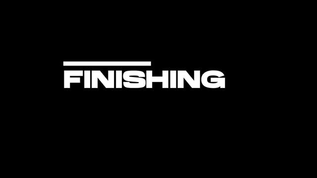 9. Finishing - Counterpressure Hooks