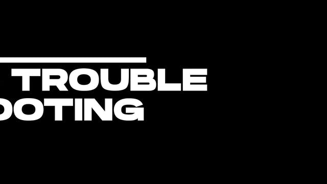 8. Troubleshooting - Counterpressure ...