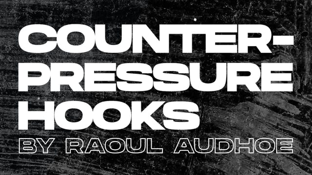 Couterpressure Hooks By Raoul Audhoe