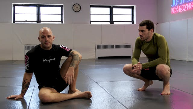 Starts and Stance from Seated Guard
