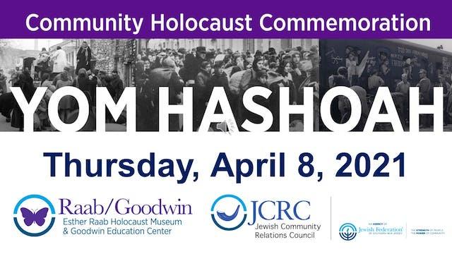 Community Holocaust Commemoration Yom...