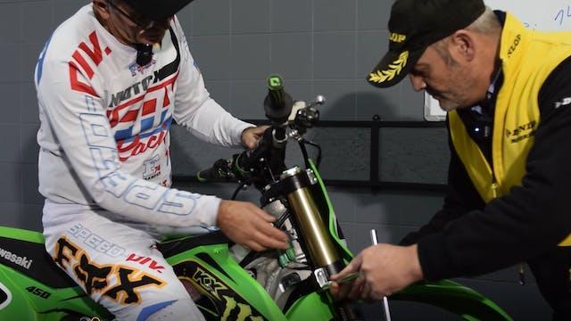 Setup de la moto