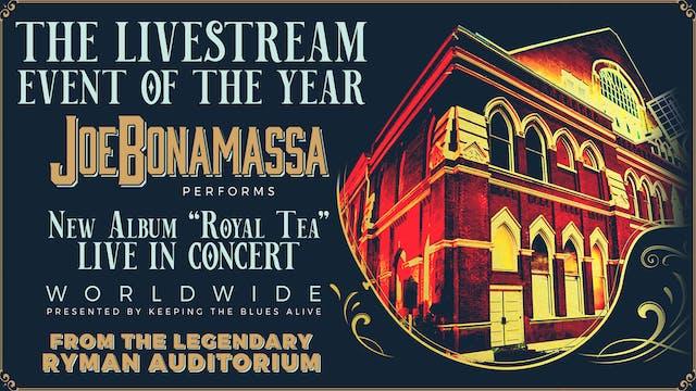 Joe Bonamassa Live in Concert Worldwide