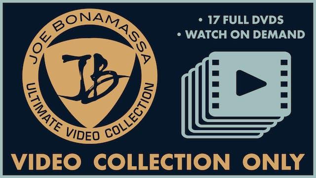 Bonamassa DVD Hub - The Complete Video Collection