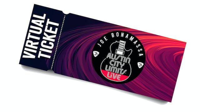 Bonamassa ACL Live - April 1st - Virtual Ticket