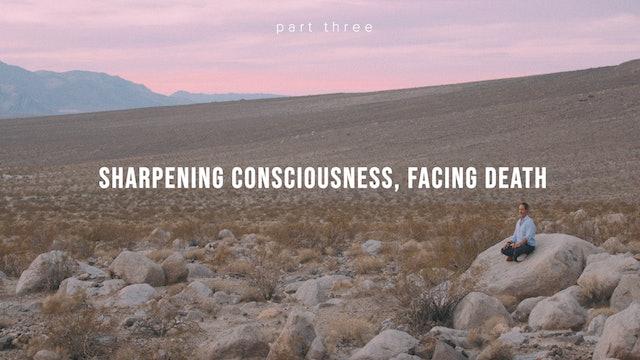 Sharpening Consciousness, Facing Death Part 3