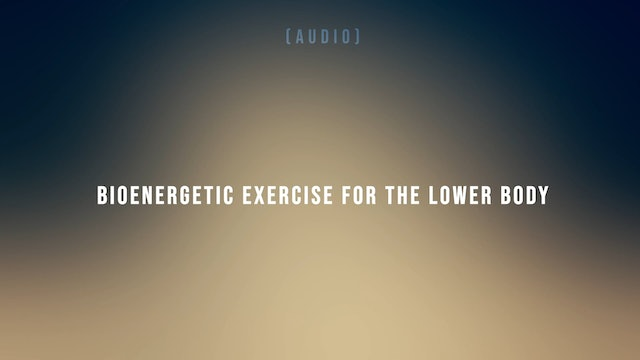 Bioenergetic Exercise for the Lower Body