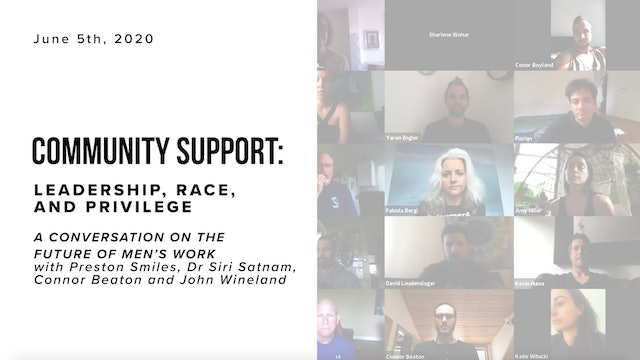 Special Community Support Call: Leadership, Race, and Privilege
