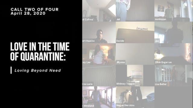 Love in the Time of Quarantine: Lovin...