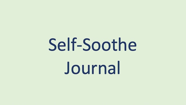 Self-Soothe Journal