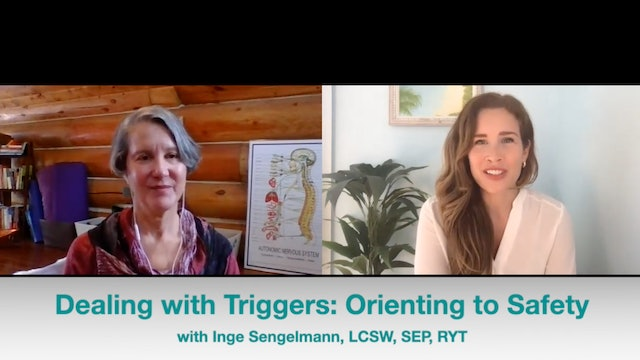 Orienting to Safety: Dealing with triggers