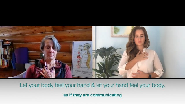 Using Touch to Self-Regulate