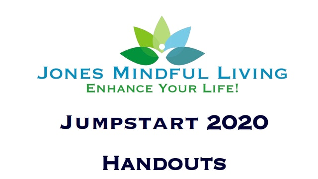Jumpstart Handouts and Worksheets