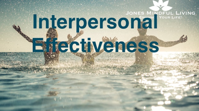 Interpersonal Effectiveness Skills Collection