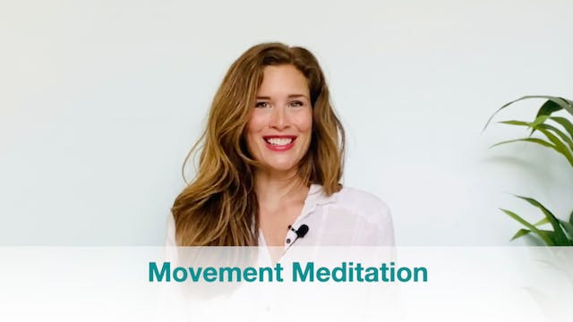 New!  Movement Meditation