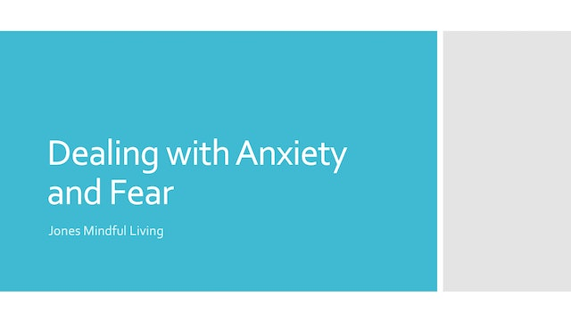 Dealing with Anxiety and Fear PDF