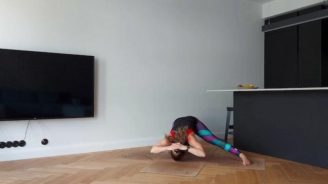VinyasFlow tugevatele jalgadele (56 min)