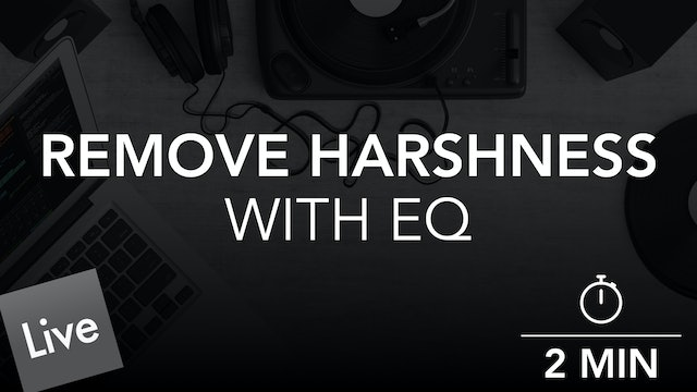Remove Unwanted Atmospheric Frequencies With Channel EQ