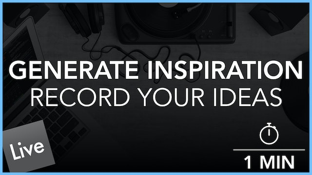 Record Your Ideas To Audio
